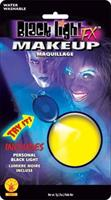Yellow Black light Makeup
