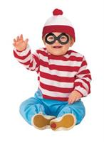 WHERE'S WALDO ONESIE ROMPER TODDLER Costume