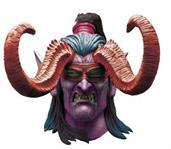 World of Warcraft Illidan Mask