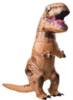 T Rex Inflatable With Sound Adult Costume