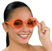 Orange Mod Glasses