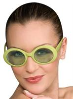 Green Mod Glasses