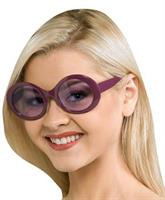 Purple Mod Glasses