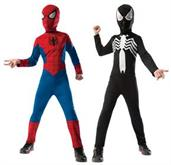 SPIDERMAN REVERSIBLE CHILD COSTUME