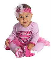 Infant Supergirl Onesie Costume