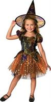 Girl's Elegant Witch Costume