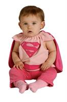 Infant Supergirl Bib Costume