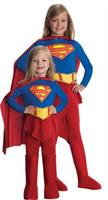 Girl's Deluxe Supergirl Costume