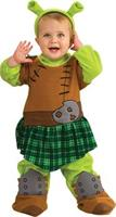 Infant Princess Fiona Warrior Costume