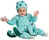 Infant Octopus Costume