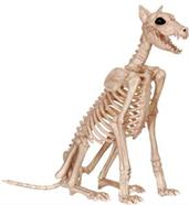 Doberman Skeleton Decoration