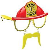 Fire Chief Sunstache