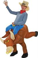 Bull Rider Inflatable Costume
