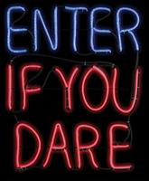 Enter If You Dare Light Glo