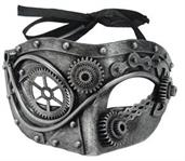 Steel Steampunk Gear Mask
