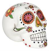 Sugar Skull Warm Colors 7 In