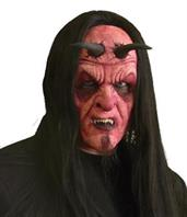 Devil Full Face Foam Prosthethic