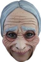 Old Woman Chinless Mask