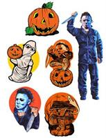 HALLOWEEN 1 WALL DECORATIONS
