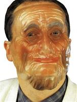 Old Male Plastic Transparent Mask