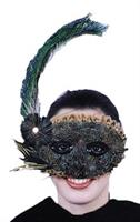 Feather 1920'S Style Mask