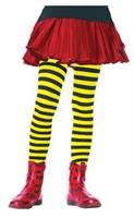 Tights Striped Black & Yellow