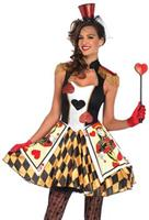 Women's Queens Card Costume
