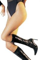 Black Lycra Industrial Fishnet Pantyhose