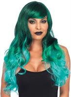 Ombre Jewel Long Wavy Wig Adult