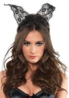 SCALLOPED LACE BUNNY EARS