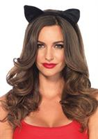 Velvet Cat Ears Headband