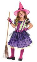 Girl's Kitty Cat Witch Costume