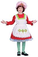 Girl's Strawberry Girl Costume