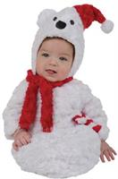 Infant Christmas Polar Bear Costume