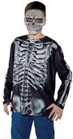 Boy's Skeleton Shirt Costume