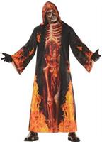 Men's Horror Skeleton Robe