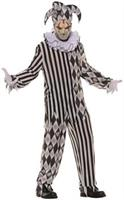 Men's Evil Harlequin Costume