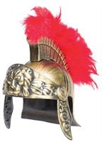 Gladiator Lion Helmet Red Plum