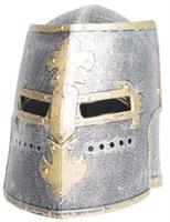 Knight Box Helmet Adult Silver