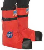 Astronaut Boot Tops Ad Orange