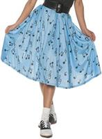 50'S MUSICAL NOTE SKIRT AD