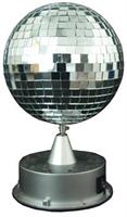 Mirror Ball With Led Base