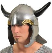 Horned Viking Helmet