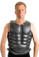 Leather Mounted Muscle Cuirass