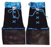 Creeperifc Blue Leg Warmers
