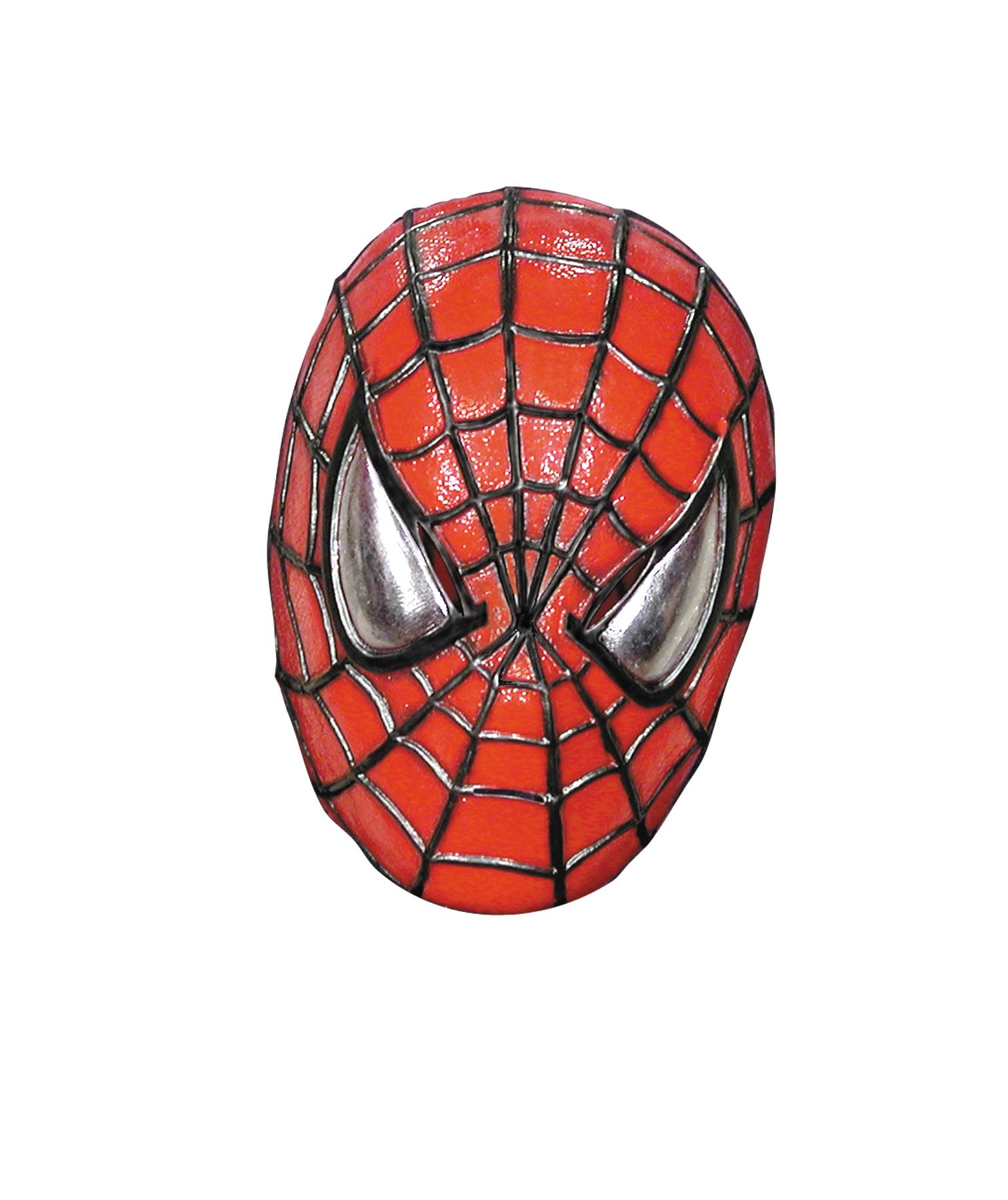 spiderman half head