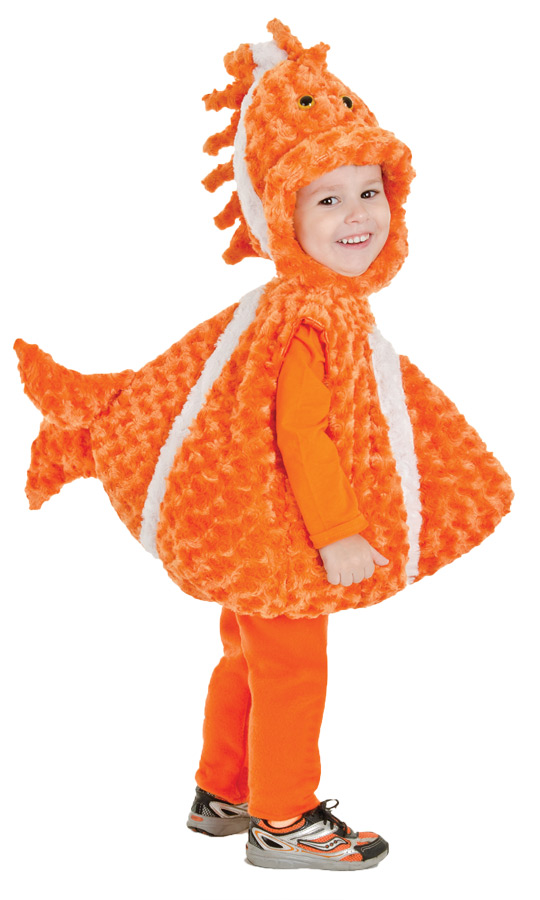 Clown fish infant costume for Clown fish costume