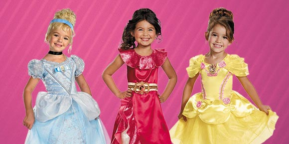Princess doll Costumes